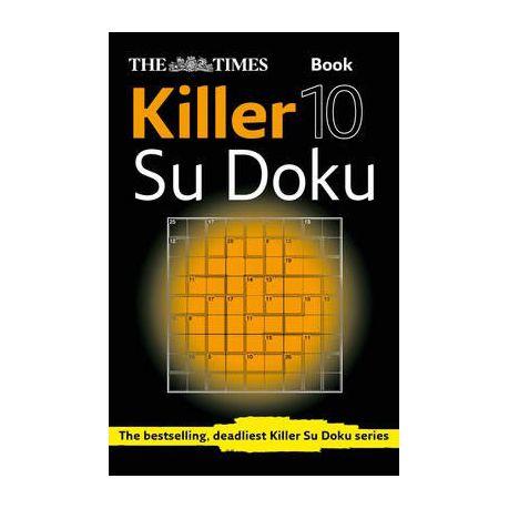 Times Killer Sudoku Book 10