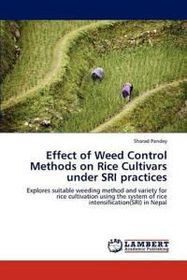 Effect of Weed Control Methods on Rice Cultivars Under Sri Practices