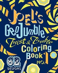 Joel's Geojumble Twist & Tumble Coloring Book, No.1