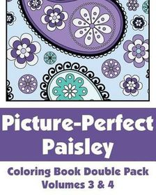 Picture-Perfect Paisley Coloring Book Double Pack (Volumes 3 & 4)