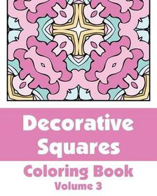 Decorative Squares Coloring Book (Volume 3)