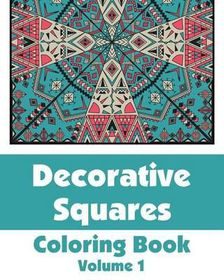 Decorative Squares Coloring Book (Volume 1)