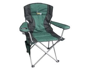 Afritrail - Kudu Padded Folding Armchair - Green