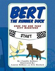 Bert the Runner Duck