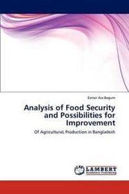 Analysis of Food Security and Possibilities for Improvement