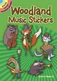 Woodland Music Stickers