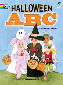 Halloween ABC Coloring Book