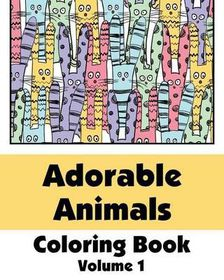 Adorable Animals Coloring Book