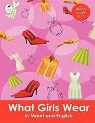 What Girls Wear in Maori and English
