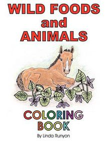 Wild Foods and Animals Coloring Book