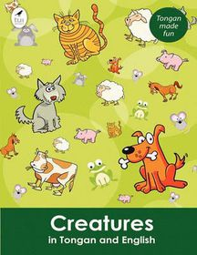 Creatures in Tongan and English