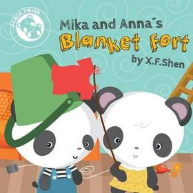 Mika and Anna's Blanket Fort (Panda Twins)
