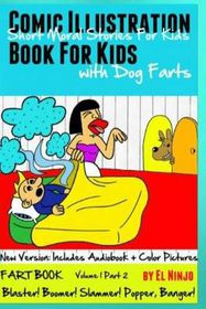 Comic Illustration Book for Kids