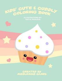 Kids' Cute & Cuddly Coloring Book