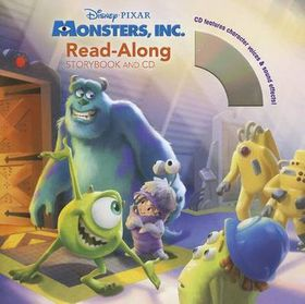 Monsters, Inc. Read-Along [With CD (Audio)]