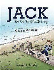 Jack the Curly Black Dog