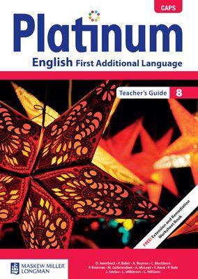 platinum caps english first additional language grade 8 teacher s rh takealot com Ferrous Sulfate 5Gr Gr 3