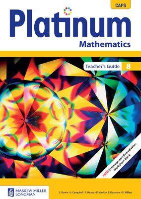 platinum mathematics grade 8 teacher s guide caps buy online in rh takealot com platinum technology teacher's guide grade 8 platinum mathematics grade 8 teacher's guide