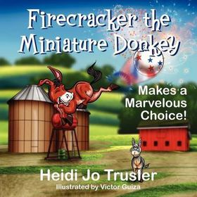 Firecracker the Miniature Donkey