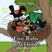 Five Baby Blackbirds
