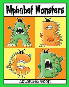 Alphabet Monsters Coloring Book