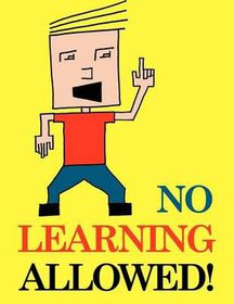 No Learning Allowed