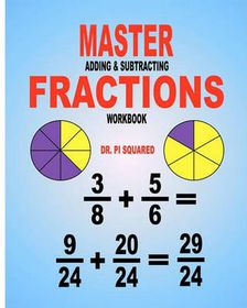 Master Adding & Subtracting Fractions Workbook