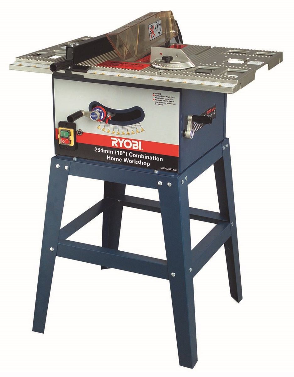 Ryobi table saw bore with legs 254mm buy online in south ryobi table saw bore with legs 254mm loading zoom greentooth Images
