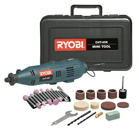 Ryobi - Mini Tool Kit 130 Watt With 42 Piece Accessory and Flexible Shaft