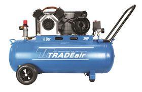 TradeAir - 3HP B/D Oilfree Compressor- 100 Litre