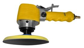 "Puma - 6"" Heavy Duty Air Sander D/A Yellow"
