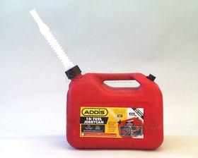Addis - Small Plastic Jerry Petrol Can - 10L