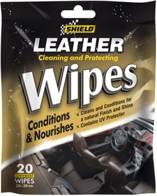 Shield - Leather Care Wipes