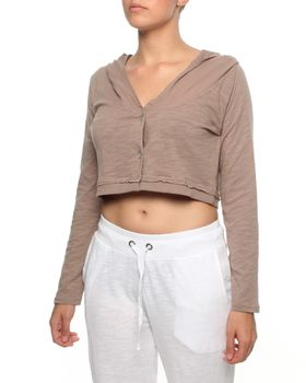 The Earth Collection Short Bolero with Hood in Mali