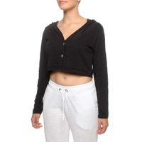 The Earth Collection Short Bolero with Hood in Black