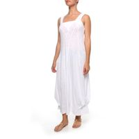 The Earth Collection Long Elegant Dress - White