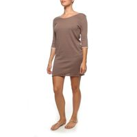 The Earth Collection 3/4 Dress with Neck Detail - Mali