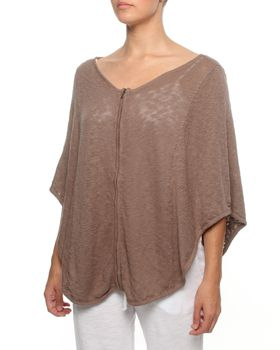 The Earth Collection Zipped Poncho in Mali