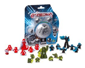 Atomicron 7 Basic Figs On Blister
