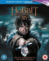 The Hobbit: The Battle of the Five Armies (Import 3D Blu-ray)