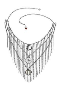 Guess Silver Plated Necklace