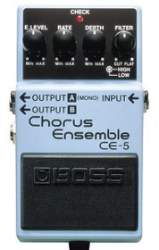 Boss CE-5 Stereo Chorus Effects Pedal