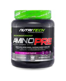 Nutritech Aminopre Glacier Grape - 540 Grams
