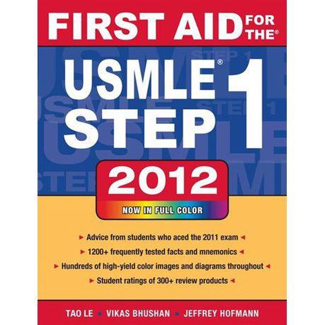 First Aid Usmle Step 1 2012 Ebook
