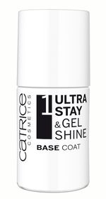 Catrice Ultra Stay & Gel Shine Base Coat - Transparent