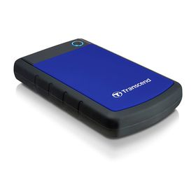"Transcend 2TB Rugged USB3.0 Hard Drive 2.5"" - Blue"
