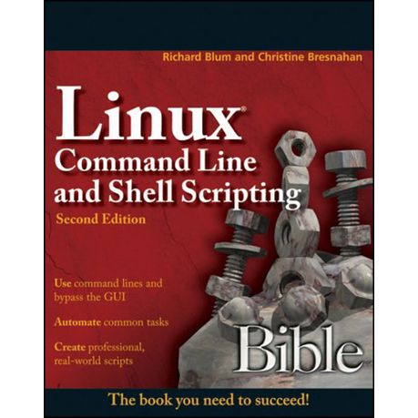 Linux Command Line And Shell Scripting Bible Ebook Buy Online In