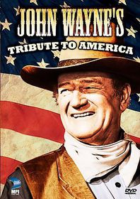 John Wayne's Tribute to America - (Region 1 Import DVD)