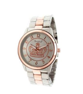 Bad Girl Round Two Tone Princess Watch
