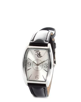Bad Girl Oval Chic Watch in Black